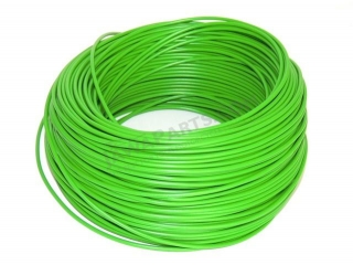 Cable 1.5 mm - GREEN (price per meter)
