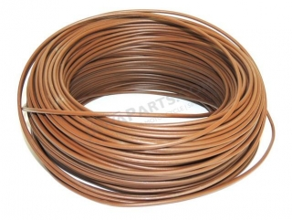 Cable 0,75 mm - BROWN (price per meter)