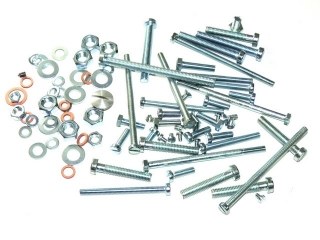 Set of engine screws - Jawa 350 Panelka