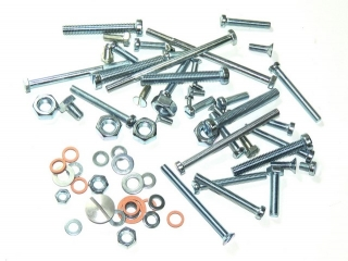 Set of engine screws - Jawa 250 Panelka