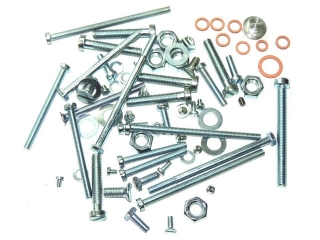 Set of engine screws - Jawa 350 Pérák