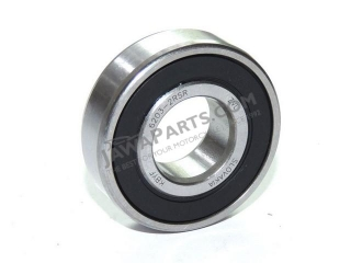 Bearing 6203-2RSR - rear wheel