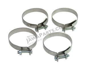 Sleeves of cuffs for front fork, set 4 pcs - Pionýr
