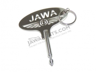 Key ring - JAWA logo (BOSCH key)