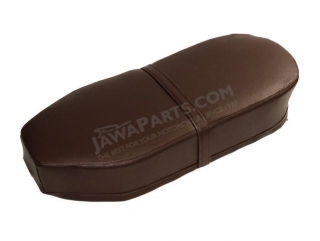 Seat cover (straight),  BROWN - JAWA Panelka, ČZ