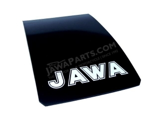 Apron of mudguard JAWA, white inscription JAWA