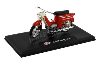 Model JAWA 50 type 21 1:18, RED