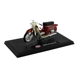 Model JAWA 50 type 20 1:18, DARK RED