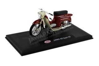 Model JAWA 50 type 20 1:18, RED