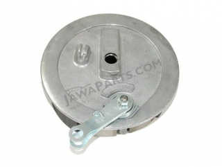 Brake shield with brake shoes - JAWA 350 634-640, Panelka