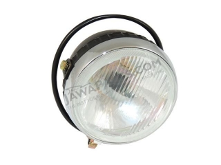 Headlamp front, round (original) - Babetta 210