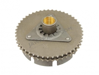 Wheel of clutch chain, bare, double row (TWN) - JAWA 350 634-640