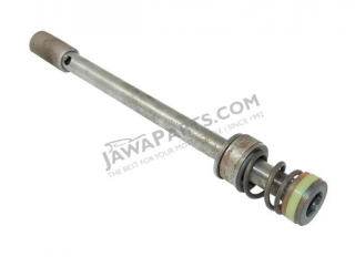 Piston rod of front shock absorber pump, complete - JAWA 350 638-640
