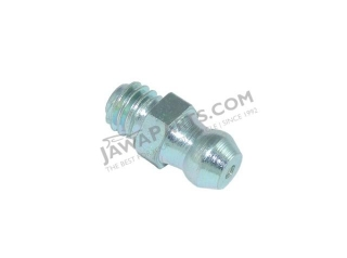 Grease nipple of rocker arm, straight M6x1,0 - JAWA