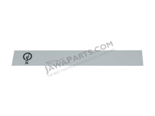 Sticker, tank ZVL GREY - Babetta 210