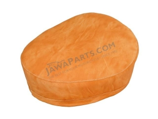 Seat cover (side hinge), LIGHT BROWN - JAWA 50 550