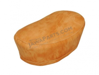Seat cover, LIGHT BROWN - JAWA 50 555