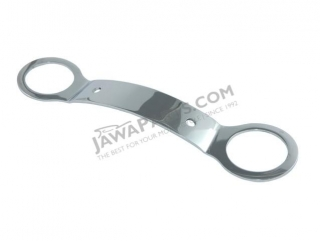 Holder of front mudguard, girder CHROME - JAWA 350 634
