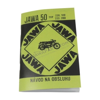Workshop manual - JAWA 50 20, 23 (Mustang)