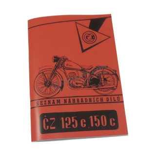 Catalog of spare parts - ČZ 125/150 C