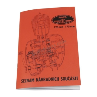 Catalog of spare parts - JAWA-ČZ 355,356