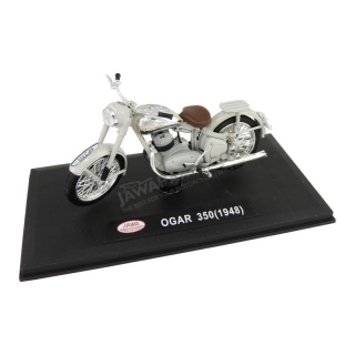 Model JAWA 350 OGAR (1948) 1:18, PIGEON GREY