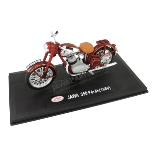 Model JAWA 350 Pérák (1948) 1:18, RED