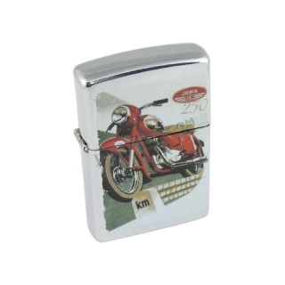 Retro petrol lighter - JAWA Kývačka