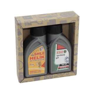 Gift pack of cosmetics for men - Engine oils