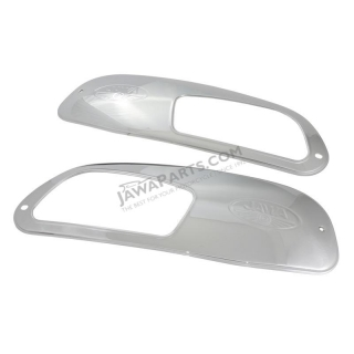 Covers of fuel tank L+R - JAWA 350 634, 350 OHC