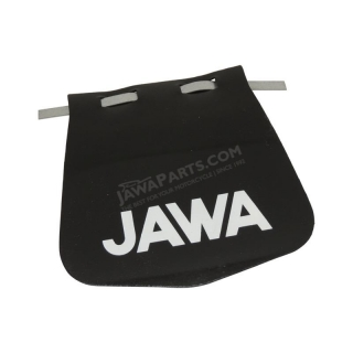 Apron of mudguard, white inscription JAWA - Babetta