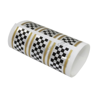 "Sticker ""chessboard"" - SILVER/GOLD"