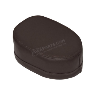 Seat (Leatherette), DARK BROWN - JAWA 50 555
