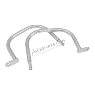Handles, REAR L+R CHROME (CZ) - JAWA 350 640
