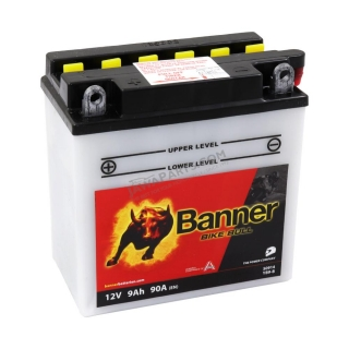 Battery Banner BIKE BULL 12V 9Ah 90A (YB9-B)