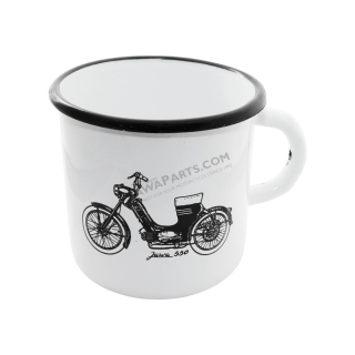 Tin Mug (400 ml) - Engine of JAWA 50 550