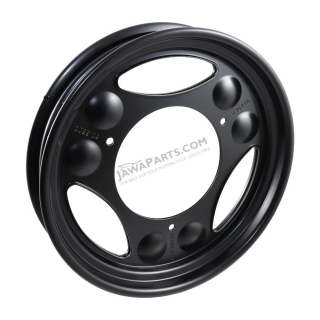 "Wheel 12"" (MZA), BLACK - Simson SR50, SR80"