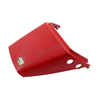 Underseat cover (rear), RED (CZ) - JAWA 350 640