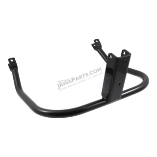 Engine guard crash bar protector, BLACK - JAWA 350 Kývačka, Panelka