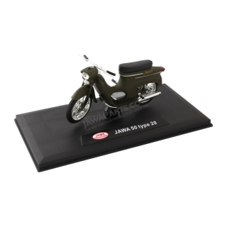 Model JAWA 50 type 20 1:18, MILITARY GREEN