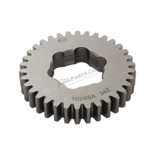 Gear wheel 34t. (3. and 4. speed), loose (MZA) - Simson