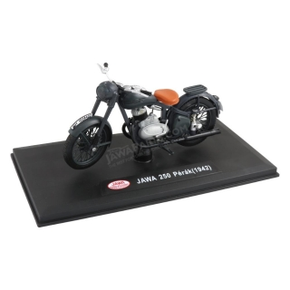 "Model JAWA 250 Pérák ""prototype"" (1942) 1:18, DARK GREY"