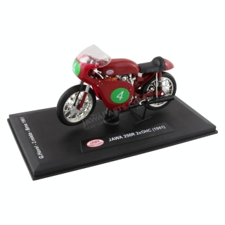Model JAWA 250R 2xOHC (1961) 1:18, #4 Havel (Brno 1961)