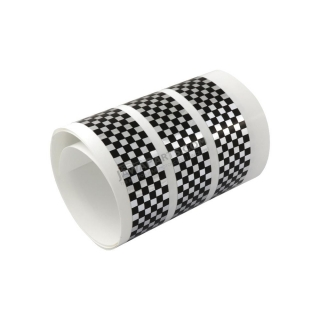"Sticker ""chessboard"" - SILVER/BLACK"