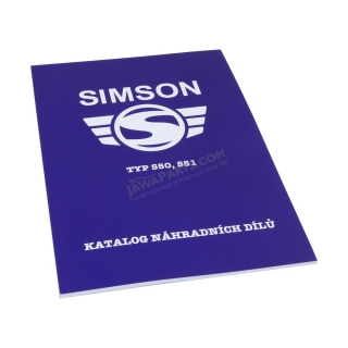 Spare parts catalog - Simson S50,S51