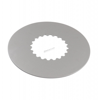 Clutch plate, sheet metal 1,0 mm (MZA) - Simson S51, S70, SR50, KR51/2