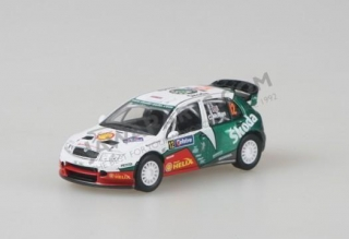Model Škoda Fabia WRC (1:43), Colin McRAE #12 Telstra Rally Australia 2005
