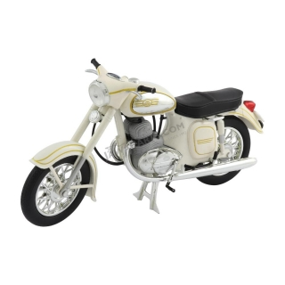 Model JAWA 350 Automatic (1966) 1:18, WHITE