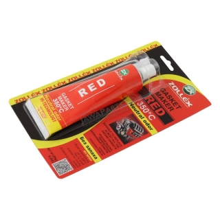 ZOLLEX - Gasket maker (85g), RED (350℃)
