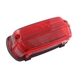 Cover of rear light with rubber, RED (SK) - ČZ 450-475, PAV 40